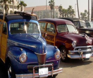 Comfort Inn & Suites Huntington Beach Attraction - Woody Beach Cars
